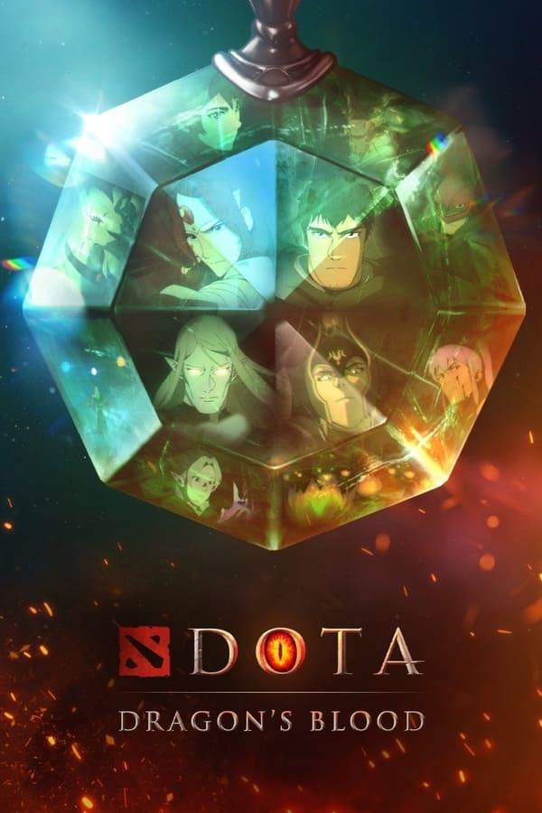 دانلود سریال دوتا: خون اژدها 2021 Dota: Dragons Blood