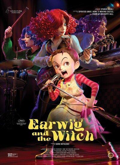 دانلود انیمیشن ارویگ و جادوگر دوبله فارسی Earwig and the Witch 2021