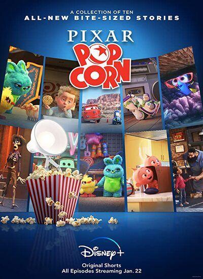 دانلود انیمیشن پیکسار پاپ کورن Pixar Popcorn 2021 با دوبله فارسی