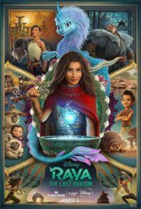 دانلود انیمیشن رایا و آخرین اژدها Raya and The Last Dragon 2021 دوبله فارسی
