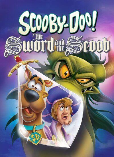 دانلود انیمیشن اسکوبی دو دوبله فارسی Scooby-Doo! The Sword and the Scoob 2021